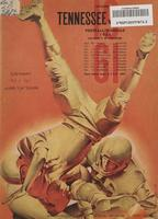 1961 Football Program - UT vs Auburn
