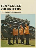 1971 Football Bowl Guide - UT vs Arkansas (Liberty Bowl)
