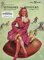 1946 Football Program - UT vs Kentucky