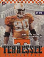 2001 Football Program - UT vs LSU