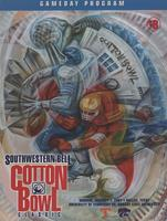 2000 Football Program - UT vs Kansas State (Cotton Bowl)