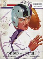 1945 Football Program - UT vs Villanova