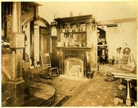 Entrance hall or parlor of Burger house on West Broadway, Maryville, Tennessee