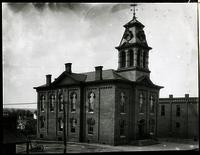 Third Blount County Courthouse, Broadway and Cusick Street; this building was destroyed by a fire on July 28, 1906
