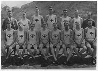 University of Tennessee Track Team photo including Estes Kefauver
