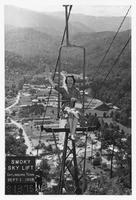 Nancy Kefauver on Smoky Sky Lift