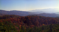 Panorama from Bunker Hill Fire Tower