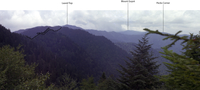 View from Richland Mountain – Annotated