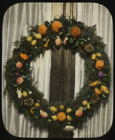 Christmas wreath for dining room