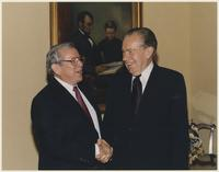 Howard Baker and Richard Nixon
