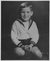 Howard Baker as a Child