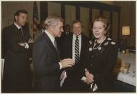 Group including Howard Baker, Margaret Thatcher and Charles Percy
