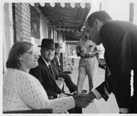 Howard Baker Meeting Constituents during Campaign in Dyersburg, Tennessee