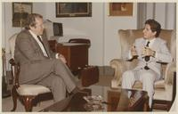 Howard Baker with President Amine Gemayel of Lebanon