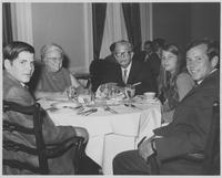 Howard Baker, Everett Dirksen, Louella Dirksen, Darek Baker, and Cynthia Baker at Dinner Event