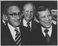 Howard Baker, Henry Kissinger and Other Man