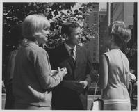 Howard Baker Talking with Two Constituents while on Campaign