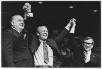 Howard Baker, Gerald Ford and Jimmy Quillen at Campaign in Johnson City