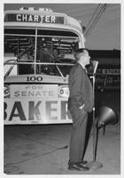 Howard Baker during Campaign in Dyersburg, Tennessee
