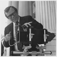 Howard Baker with Camera
