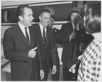 Richard Nixon and Bill Brock in Chattanooga