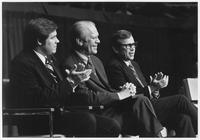 Howard Baker , Gerald Ford and Man at Campaign in Johnson City