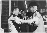 Howard Baker with Constituents during Campaign in Dyersburg, Tennessee