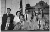 Group Including Fred Thompson during Watergate