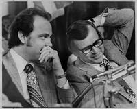 Howard Baker and Fred Thompson during Watergate Hearings