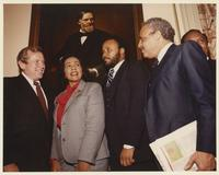 Howard Baker with Coretta Scott King and others
