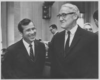 Howard Baker with John Sherman Cooper at hearing