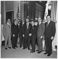 Howard Baker with Others at his Re-Election as Minority Leader