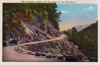 "Roadway Scene. ""In the Heart of the Mountains."""