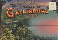 Souvenir Folder of Gatlinburg Tenn.