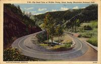 Road Turn at Walker Prong, Great Smoky Mountains National Park