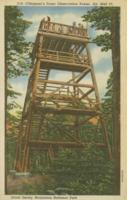 Clingman's Dome Observation Tower, Alt. 6643 Ft. – Great Smoky Mountains National park