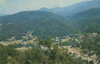 Looking Down on Gatlinburg Tennessee (GS-102)