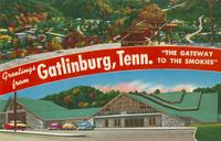 "Greetings from Gatlinburg, Tenn. ""The Gateway to the Smokies"" (KG-19)"