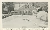Heated Swimming Pool at the Robert Lee Motel, In the Smokies, Gatlinburg, Tenn.