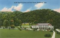 Hotel Greystone and Patio Rooms, Gatlinburg, Tenn. (G-28)