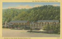 The New Gatlinburg Inn Gatlinburg In The Smokies Tennessee At Entrance to Great Smoky Mountains National Park