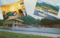 Smoky Mountain Plaza, Gatlinburg, Tennessee. Located on Airport Road, One and one-half blocks south of Parkway (U. S. 441)