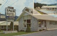 Spain Motel Airport Road Telephone: 436-5187 Gatlinburg, Tennessee In the Smokies