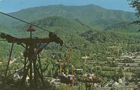 Looking Down on Gatlinburg, Tennessee (GS-387)