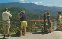 View from the Upper Terminal of the Skylift - Gatlinburg, Tennessee (GS-290)