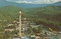 The Space Needle - Gatlinburg, Tennessee (GS-502)