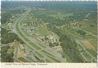 Aerial View of Pigeon Forge, Tennessee (GS-531)