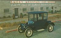 "1917 Detroit Electric, Model 68, runs of 84 Volts D.C. Called ""Society's Chosen Car."""