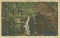 Old Grist Mill, the Great Smoky Mountains National Park (W-16)