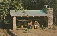 Trail Shelter on the Appalachian Trail - Great Smoky Mountains National Park (GS-337)